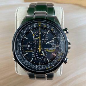 Citizen Eco-Drive  Angel World Chronograph  Watch